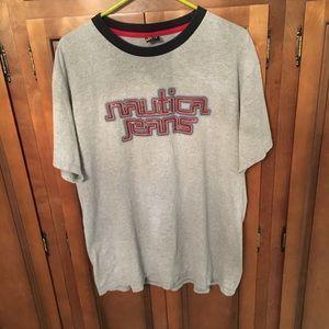 Vintage Nautica Jeans tee T-shirt large